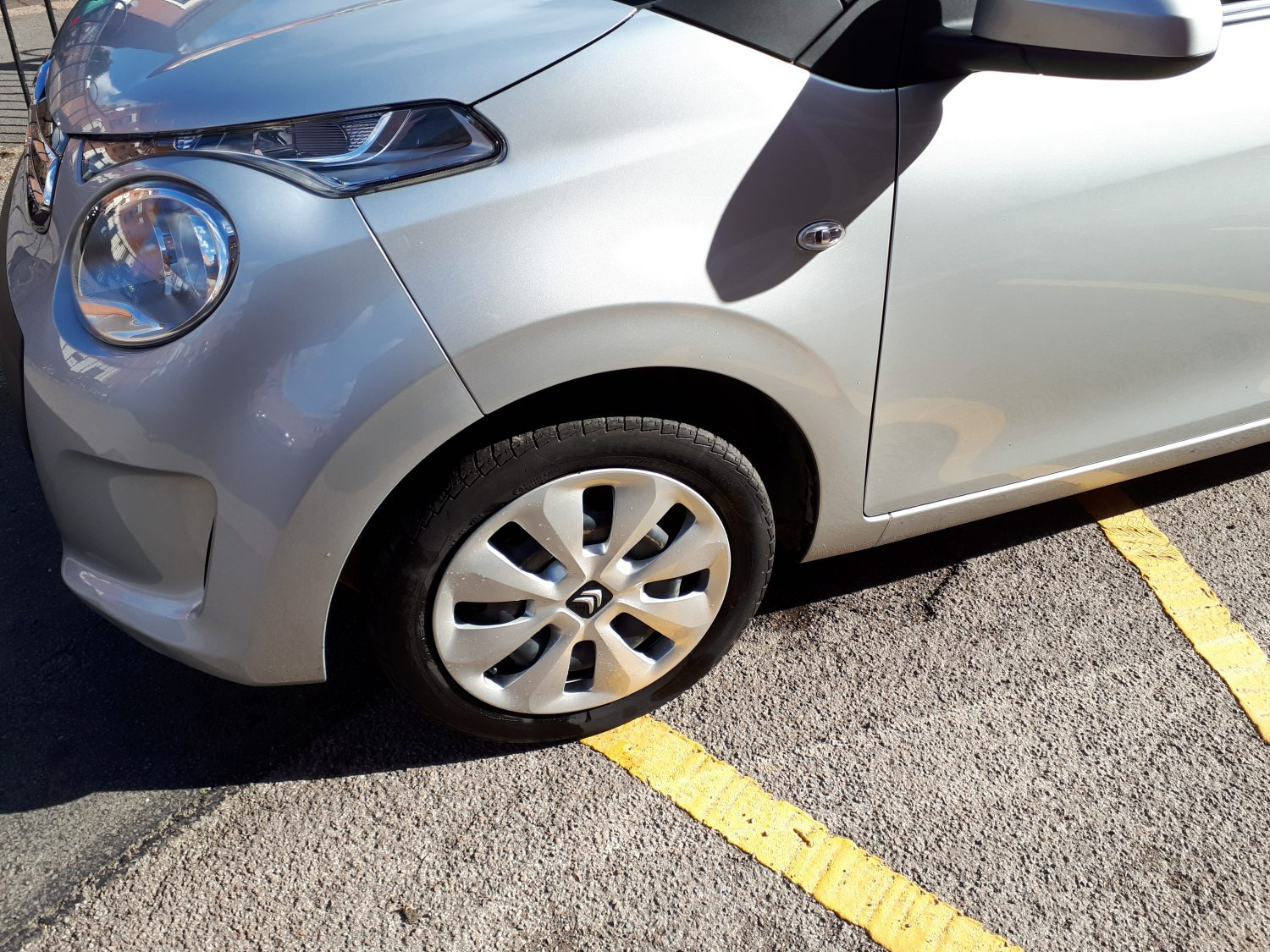Silver Citroen C1 2016 for sale - boot