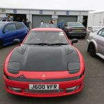 Mitsubishi GTO 3000 - front with black bonnet