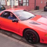 Mitsubishi GTO 3000 - side with red bonnet