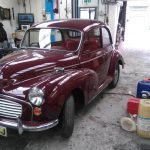 Morris Minor 1971 - a beauty in burgundy