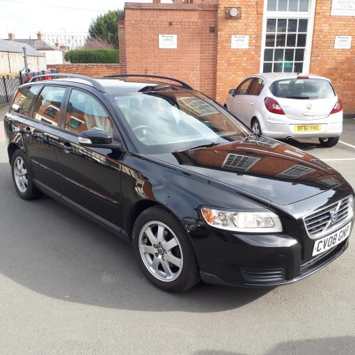 Black Vovlo V50 Estate For Sale - front