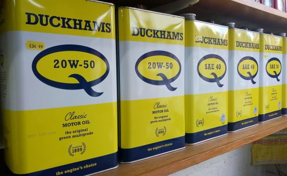 Duckhams Classic Motor Oil at VFR Motor Services, Leicester