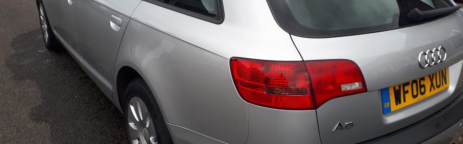 Silver 2006 Audi A6 Estate For Sale - exterior rear left