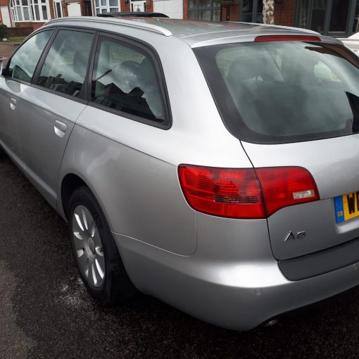 Silver 2006 Audi A6 Estate For Sale - exterior rear left