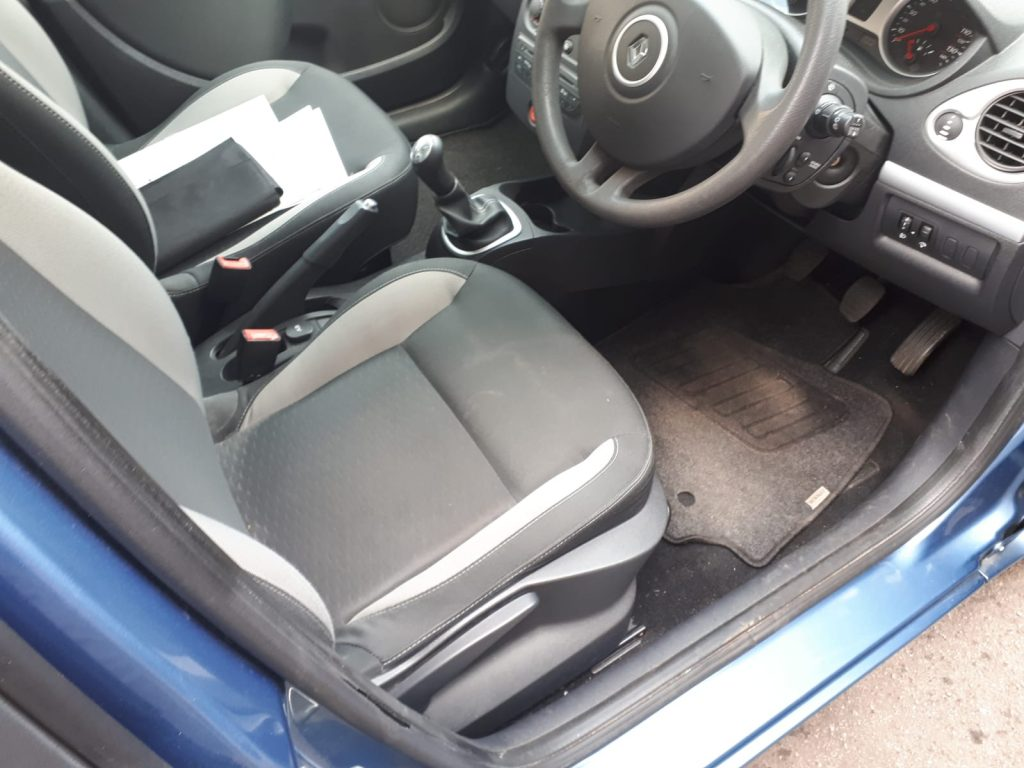 Used Renault Clio Estate - Interior Driver Side