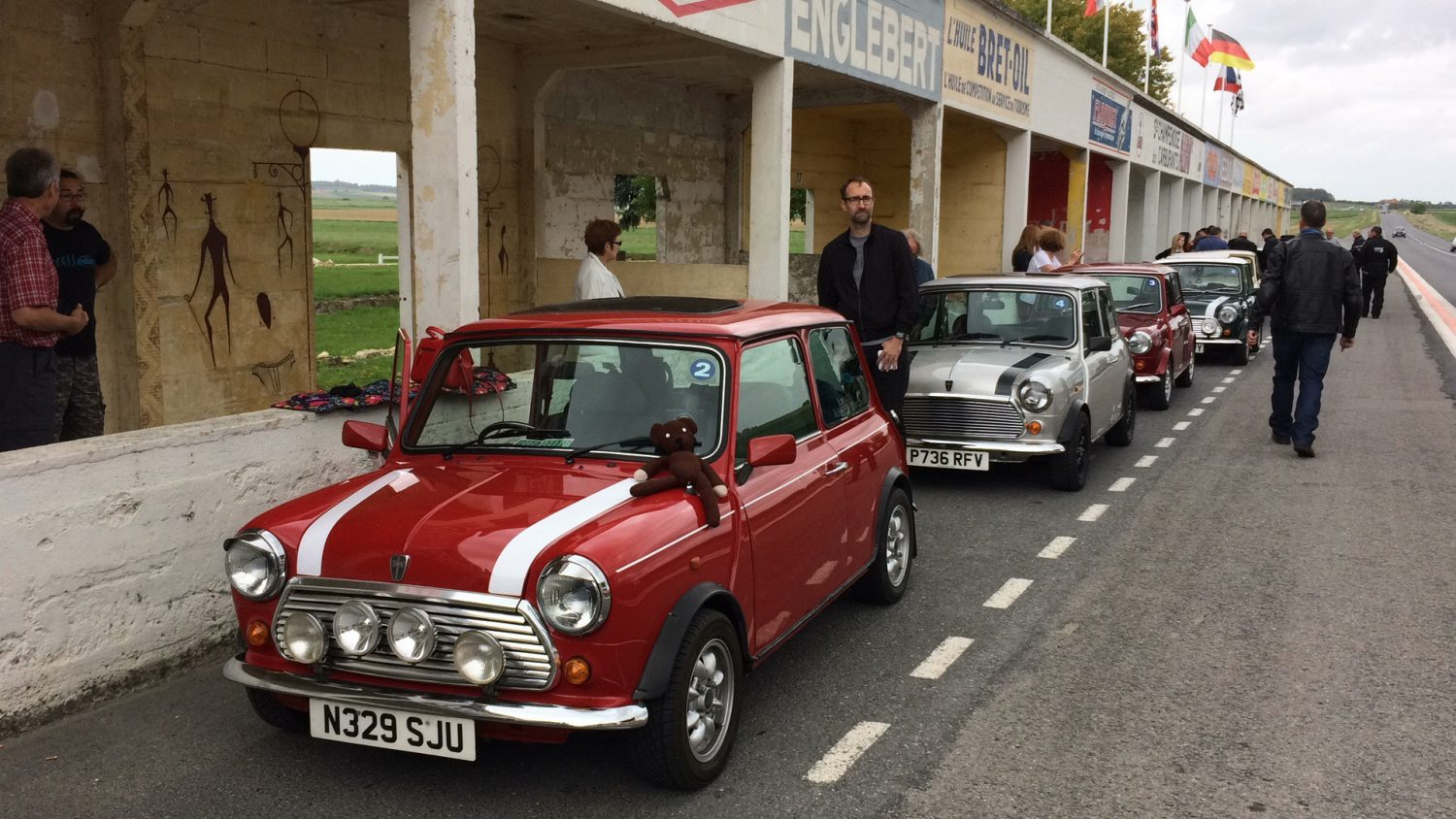 Classic MINIs ready for the track