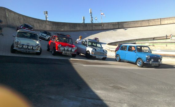 Mini turns 60 - classic Minis on the track
