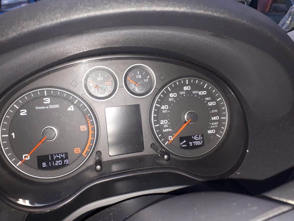 Used Audi A3 for sale: dash