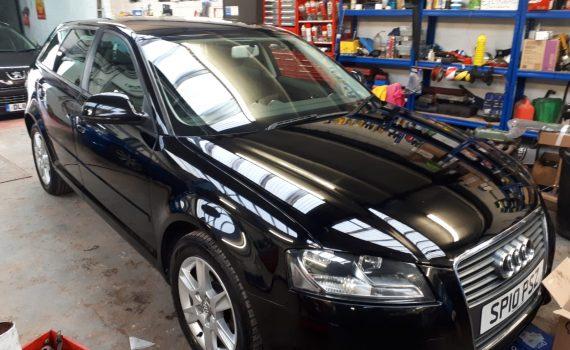 Black 2010 Audi A3 for sale - front