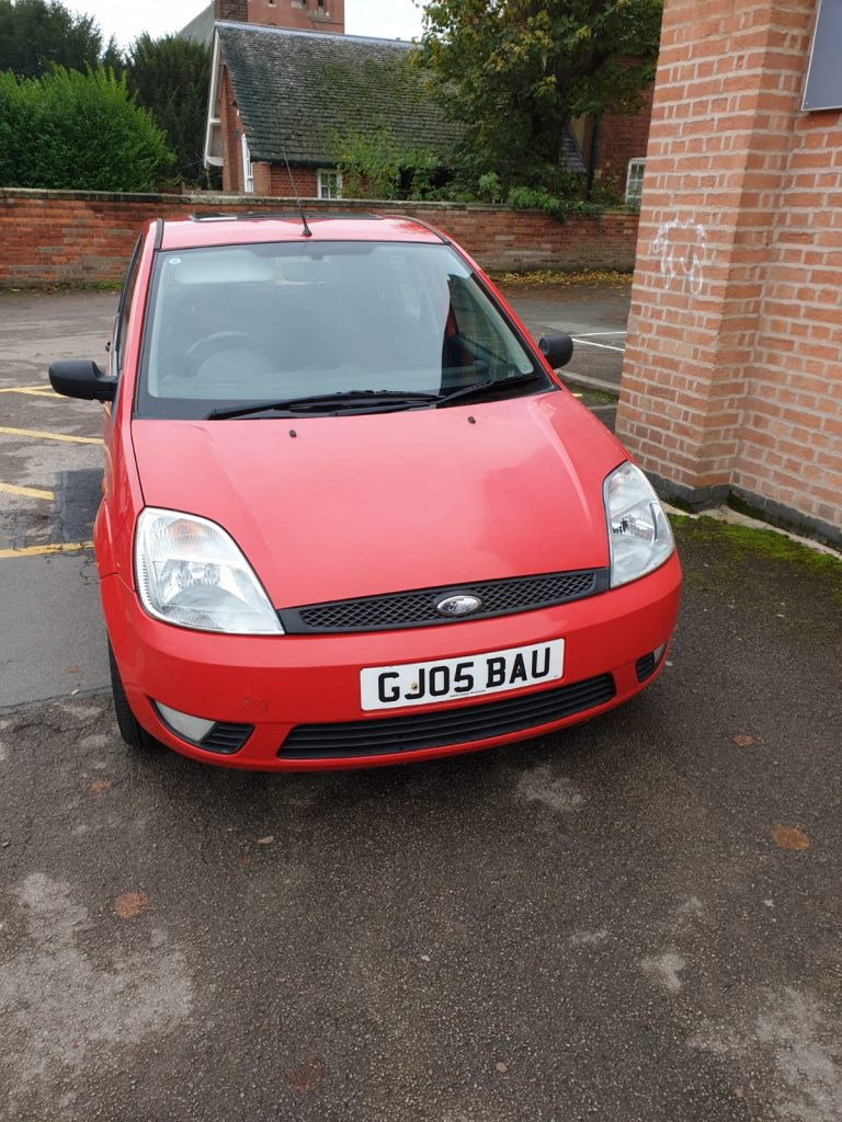 For Sale - Red 2005 Ford Fiesta - front view