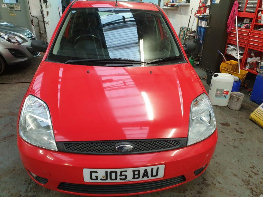 For Sale - Red Fiesta Hatchback