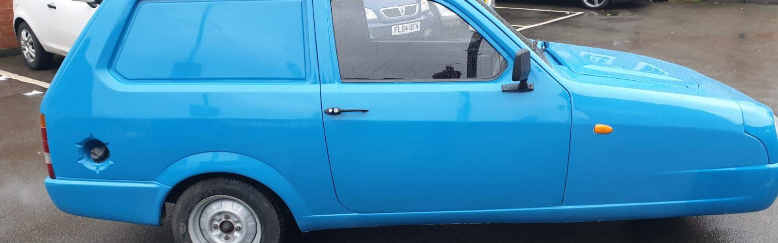 Blue 1999 Robin Reliant