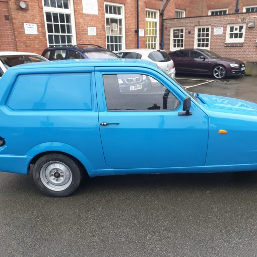 Blue 1999 Robin Reliant