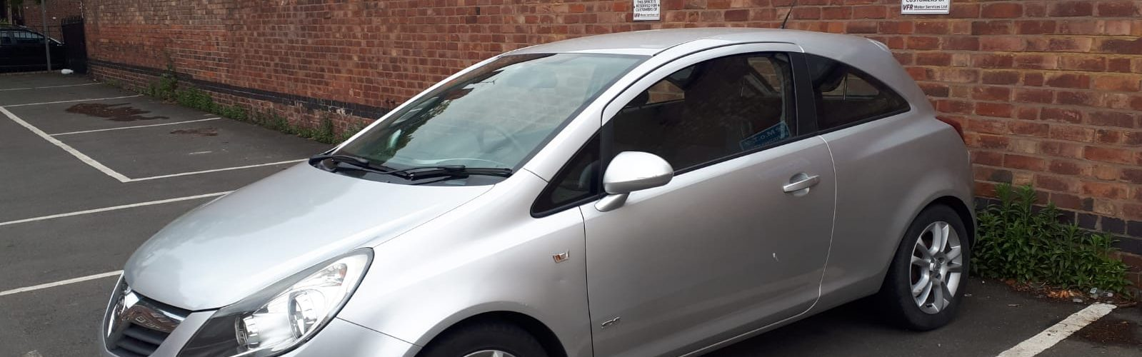 For Sale - 2008 Vauxhall Corsa SXi - side
