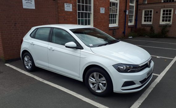 White 2018 Volkswagen Polo For Sale - driver side